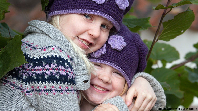 Nesthäkchen und Mittelkinder sind besondere Geschwister.
