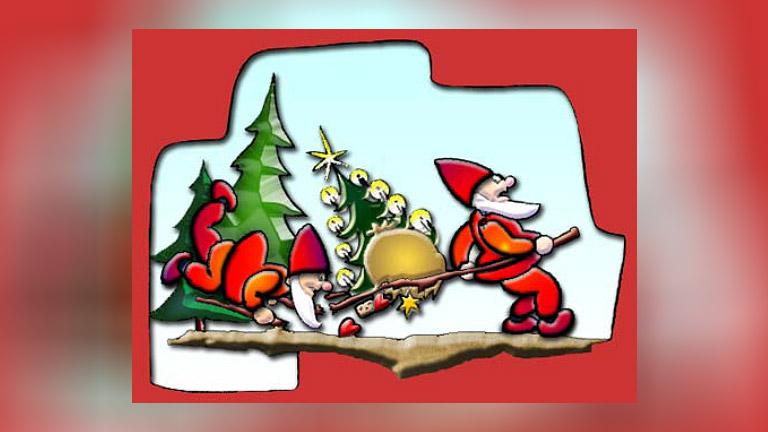 Die kleinen Helferlein des Weihnachtsmannes