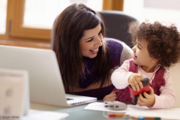 Spagat zwischen Kind und Job
