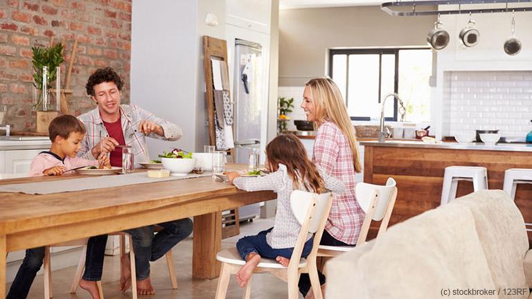 Wie sieht das Traumhaus für Familien mit Kindern aus?