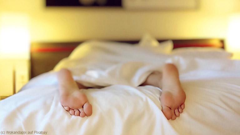 Ein erholsamer Schlaf ohne allergische Reaktion