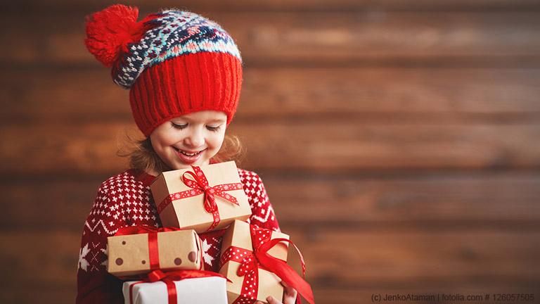 Günstige Weihnachtsgeschenke für Kinder