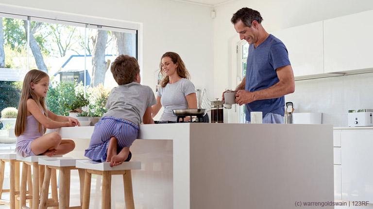 Wie macht das Internet den Alltag als Familie einfacher?
