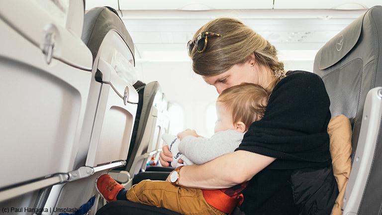 Unterwegs mit Säuglingen und Kleinkindern