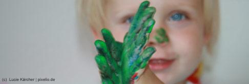 Wie Kinder malen lernen