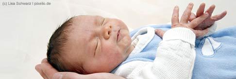 Wir gratulieren Ihnen zu Ihrem Baby!