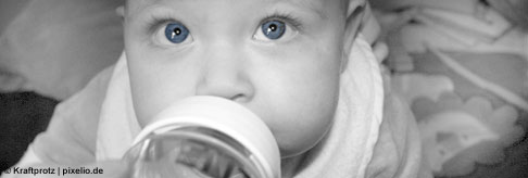 Wenn Sie Ihrem Baby das Fläschchen geben