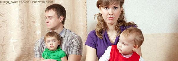 Babys stellen die Beziehung der Eltern auf eine harte Probe