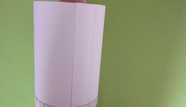 Laternenschirm für eine Laterne aus Transparentpapier