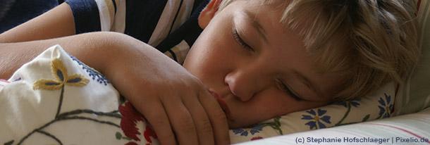 Wenn Siebenjährige nachts nicht trocken sind