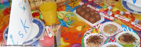 Partyschmaus für Geburtstagsgäste