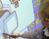 Moderner Schulunterricht mit digitalen Tafeln