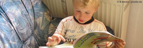 Lesekompetenz von Kindern fördern