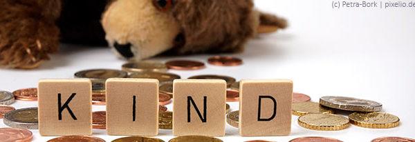 Kindergeld und Kinderfreibetrag steigen