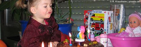 Babys zweiter Geburtstag