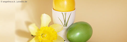 Basteln von Eierbechern
