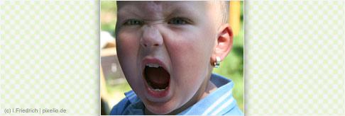 Gehäufte Wutausbrüche bei Kleinkindern