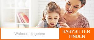 Babysitter-Suche