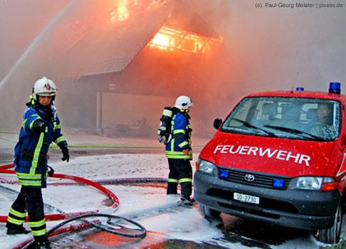 Der Beruf des Feuerwehrmannes hat es in der aktuellen Umfrage mit 6,3% auf den vierten Platz geschafft