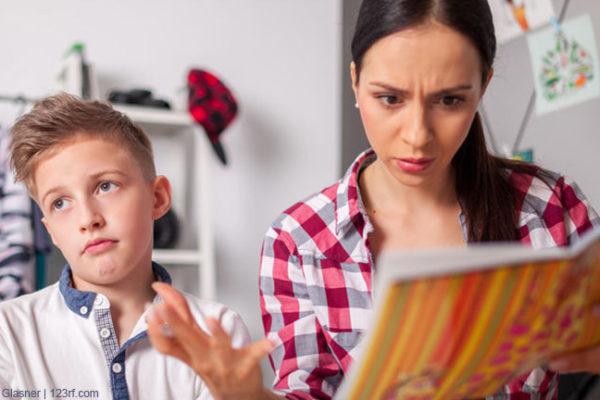 Schlechte Noten in der Schule – besser keine belehrenden Sprüche