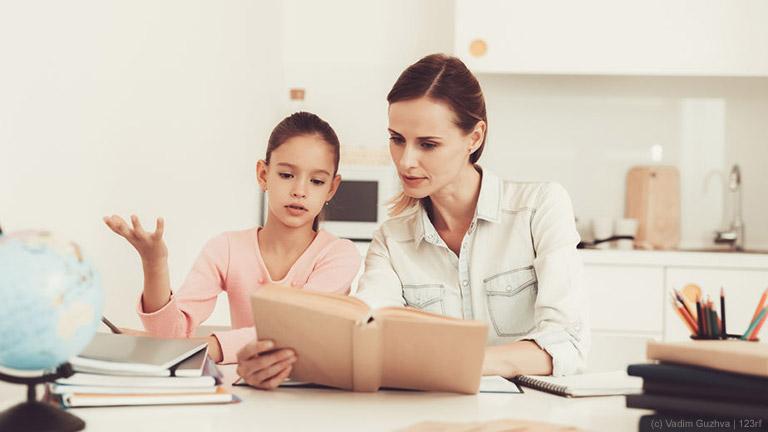 Hausaufgaben am Küchentisch – wo ist die Grenze?