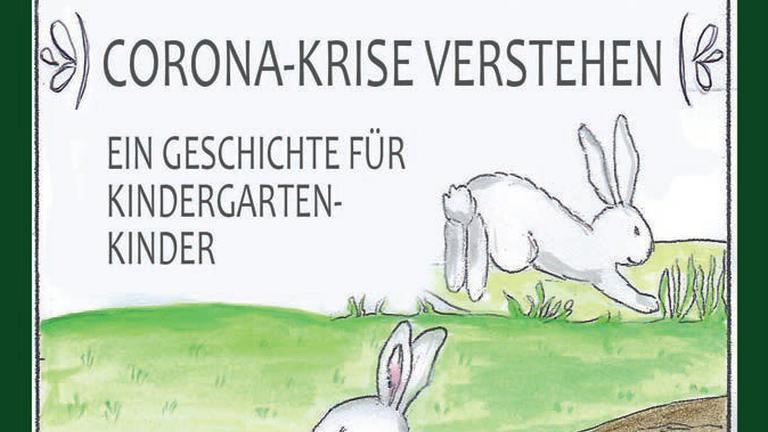 Dieses Buch erklärt Kindergartenkindern die  Coronakrise