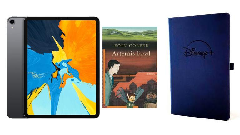 Artemis Fowl - iPad zu gewinnen