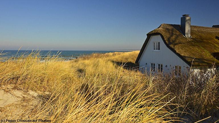 Viele Familien verbringen ihren Sommerurlaub an der Ostsee