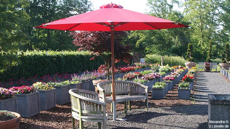 Sonnenschirme für jeden Garten