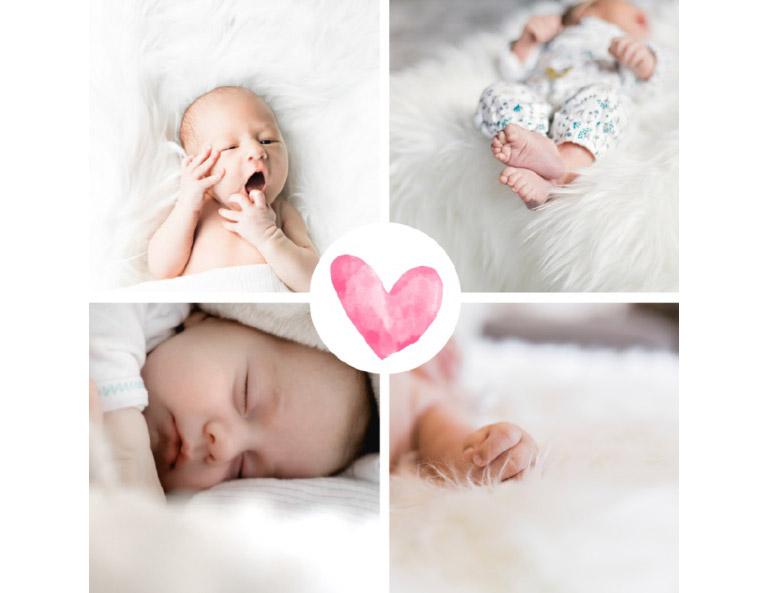 . Besonders ansprechend sind Geburtskarten, wenn diese mit einem Foto des Geburtstagskindes geschmückt sind.