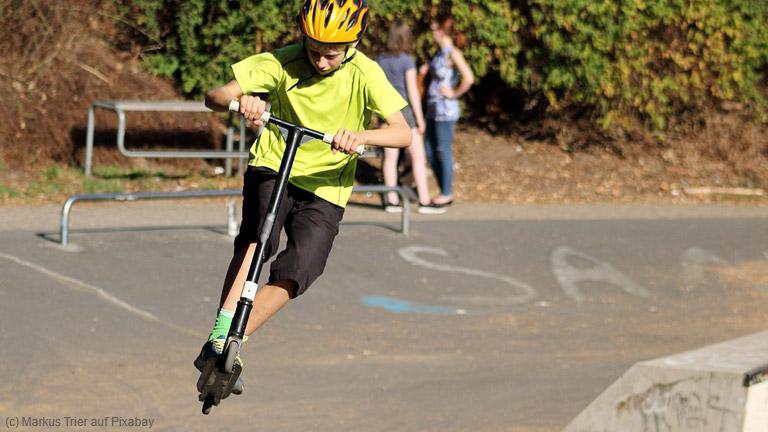 Stunt Scooter als neuer Trend bei Kindern