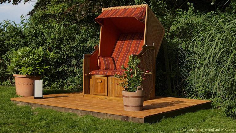 In fast jedem Garten gibt es einen ungenutzten Winkel. Dabei kann jeder mit einfachen Mitteln diese Gartenecke gestalten und daraus ein besonderes Highlight machen.