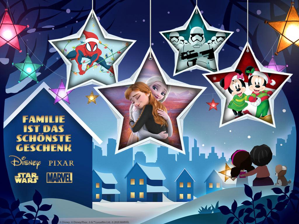 Disney+ lässt keine Wünsche offen und verwandelt die Adventszeit in ein magisches Erlebnis für Groß und Klein!