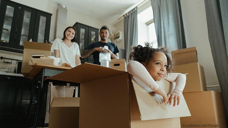 Den berufsbedingten Umzug mit der Familie planen