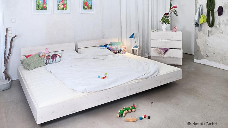 Wohntrend Familienbetten: Schlafstätte XXL