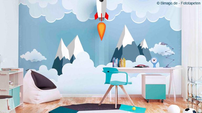 Für den Nachwuchs ist das Kinderzimmer der erste eigene Rückzugsort.