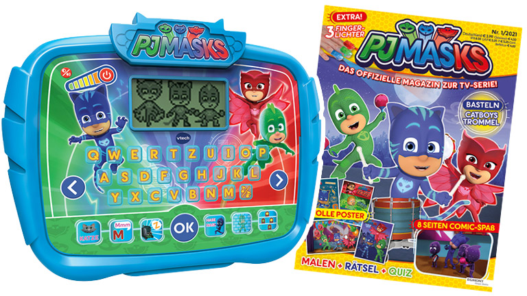 Bei unserem Gewinnspiel zu PJ-Masks - Pyjamaparty verlosen wir tolle Fanpakete