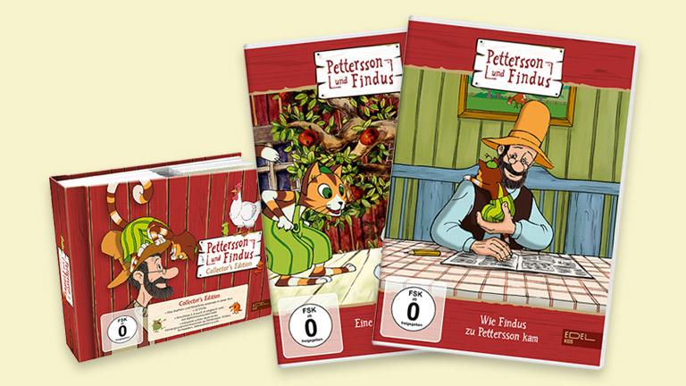 """Zum Start der dritten Staffel der Zeichentrickserie """"Pettersson und Findus"""" auf KiKA könnt ihr bei uns zwei tolle Fanpakete gewinnen."""
