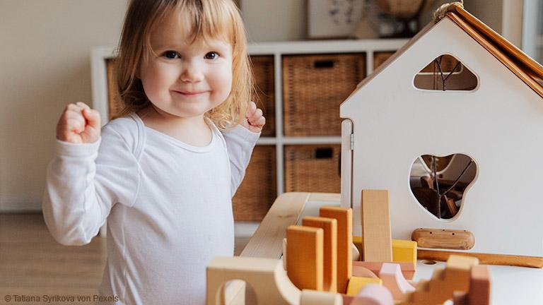 Ein Kinderzimmer nach Maria Montessori