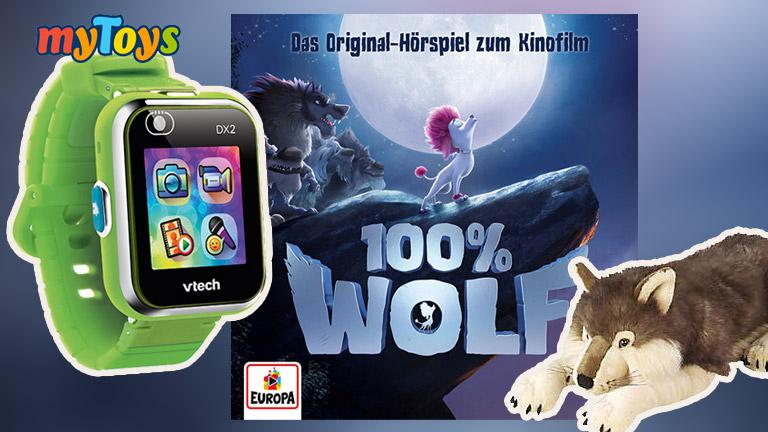 """Zum Kinostart von """"100% WOLF"""" könnt ihr bei uns tolle Fanpakete gewinnen."""