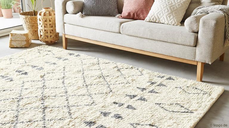 Teppiche für ein gemütliches Wohnambiente