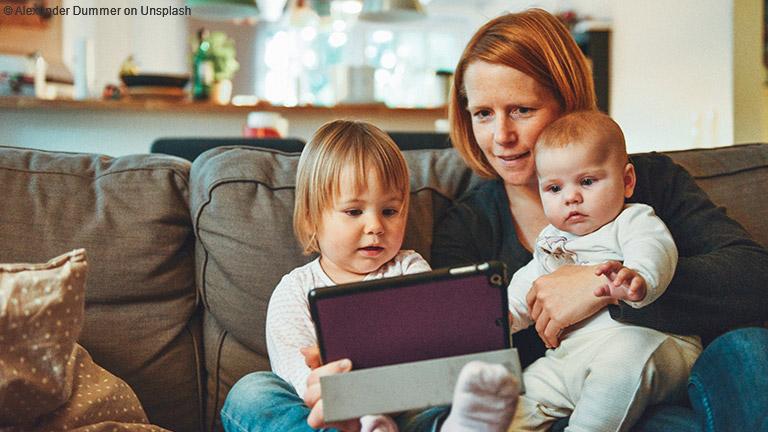 Was bringt der Corona-Digitalisierungsschub für Familien?